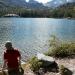 Resting at Shadow Lake