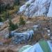 Campsite overlooking Garnet Lake