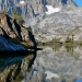 Banner Mountain reflected in Garnet Lake