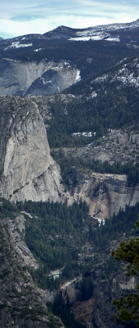 Nevada and Vernal Falls (Merced River)