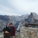 Have we ever actually gotten to stand in this premier part of glacier point before?