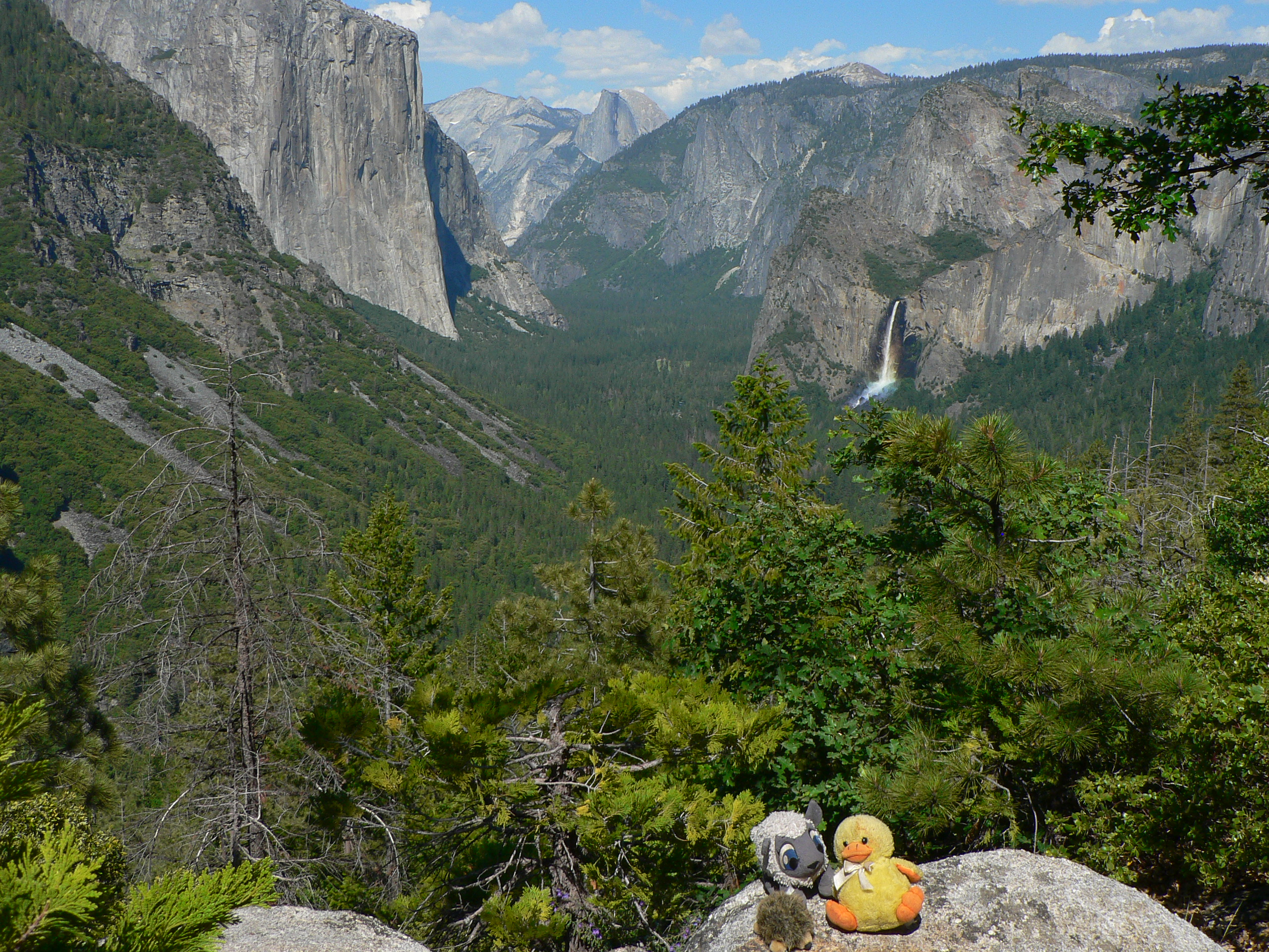 Day Hiking Inspiration Point Yosemite Our Second Trip