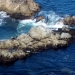 Seals on the rocks below us