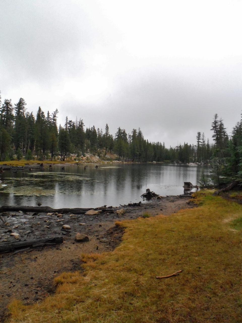 Hiking Bull Run Lake Stanislaus National Forest Amid