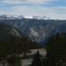 Yosemite Valley, Bridal Veil Falls, & Snowy Sierra