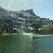 Elizabeth lake with Unicorn Peak in background