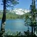 Elizabeth lake with Johnson Peak in the background