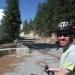 Biking up Glacier Point Rd