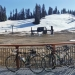 Snow conditions at Badger Pass - no wonder this place is closed for the season