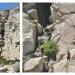 Jen and Ryan climbing the Ridge Lake Falls