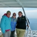 Me, Kate, and Jacquie on the calmer Isle Royale Queen!