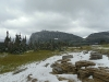 brrrrr.. logan pass was chilly and snowing
