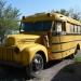This is an oldschool looking school bus