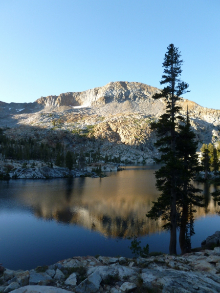Illilouette Creek To Ottoway Lake Backpacking Red Peak