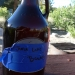 Growler we filled at June Lakes Brewing - great for celebrating our campsite score
