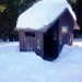 Snow hat of Outhouse