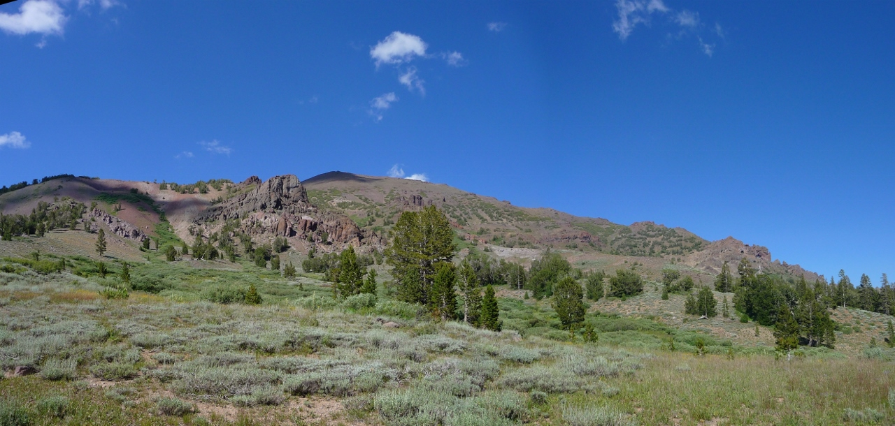 Sonora Peak Stanislaus National Forest Sweeping Views On