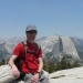 Half Dome view from Sentinel Dome
