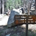 From the sunrise lake trailhead we followed signs to the east side of Tenaya Lake to start