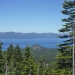 Lake Tahoe view from the TRT