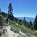 Another great day of Lake Tahoe views along the TRT