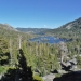 View of Echo Lake as we hiked up to Tamarack Lake
