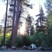 Camp Near Truckee in early morning