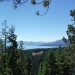View of Tahoe shortly after hiking up the TRT out of Tahoe City