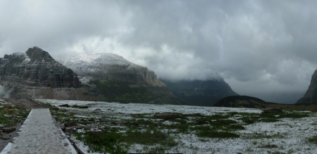 Snowy Glacier National Park