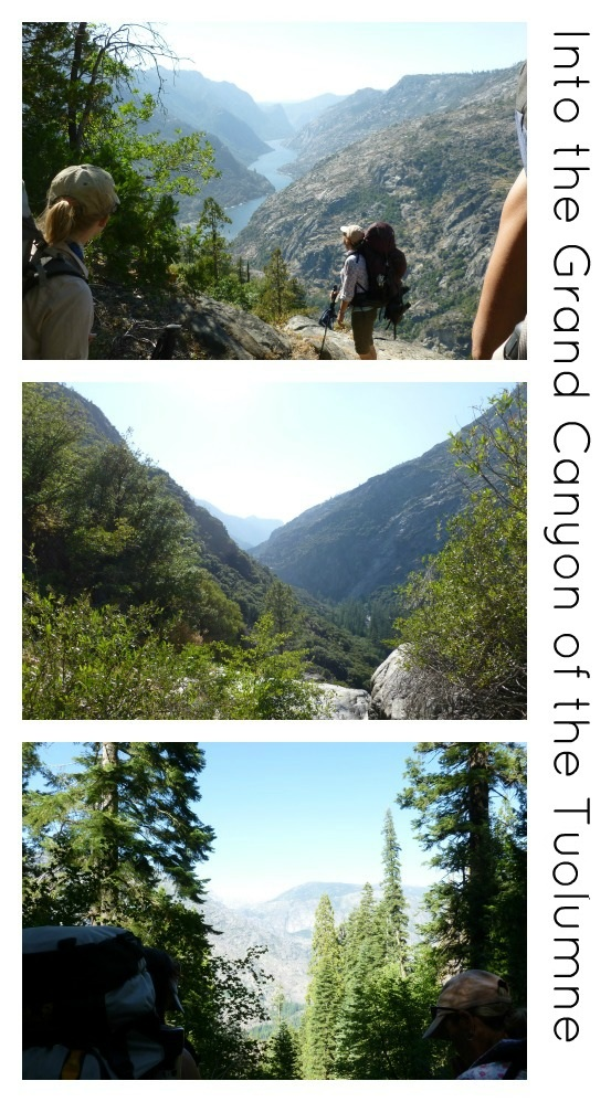 Descending into the Grand Canyon of the Tuolumne
