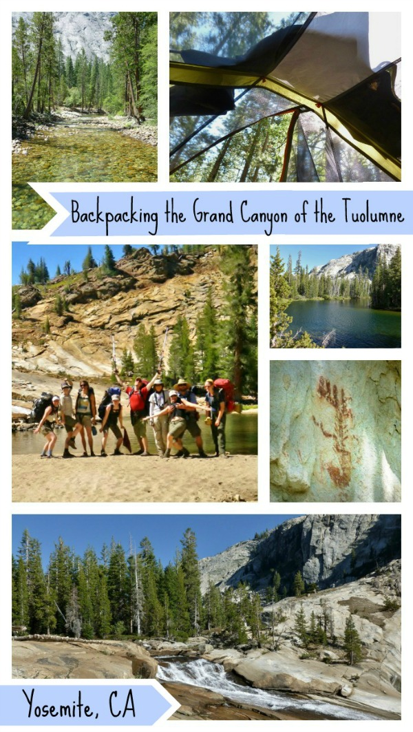 Backpacking the Grand Canyon of the Tuolumne - Yosemite National Park