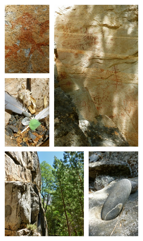 Pate Valley Pictographs