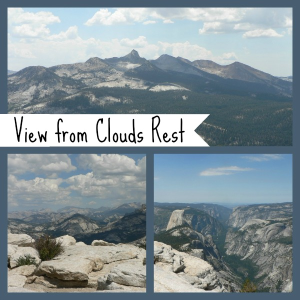 View from Clouds Rest