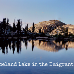 Emigrant Wilderness Backpacking trip to Iceland Lake