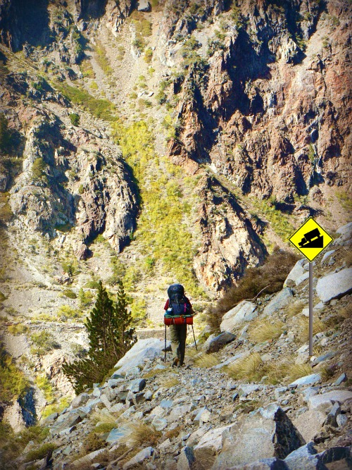 Spooky Meadows Trail down to Agnew Lake, Inyo National Forest
