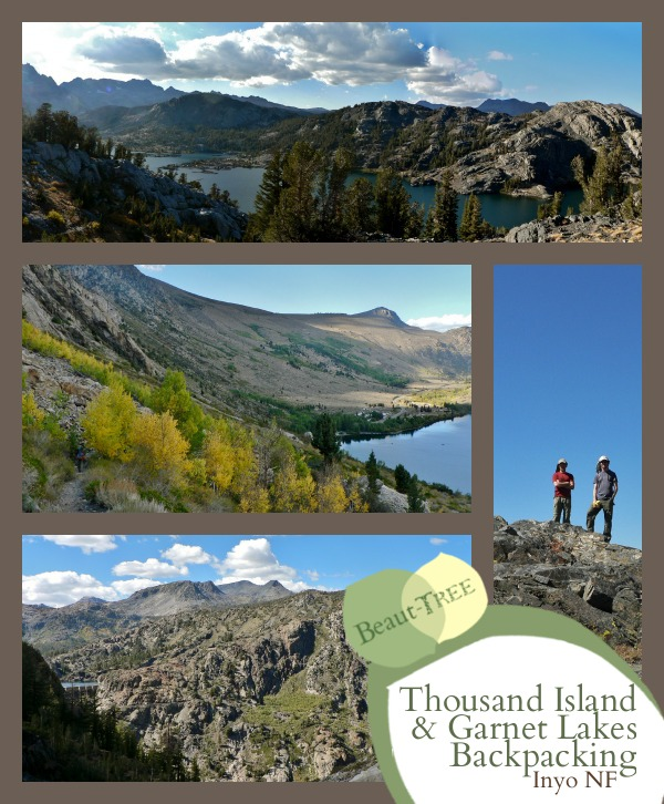 Thousand Island Lake and Garnet Lake Backpacking