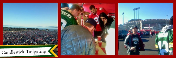 Tailgating for the Packers at Candlestick Park