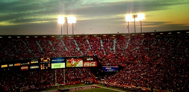 Twilight at Candlestick Park