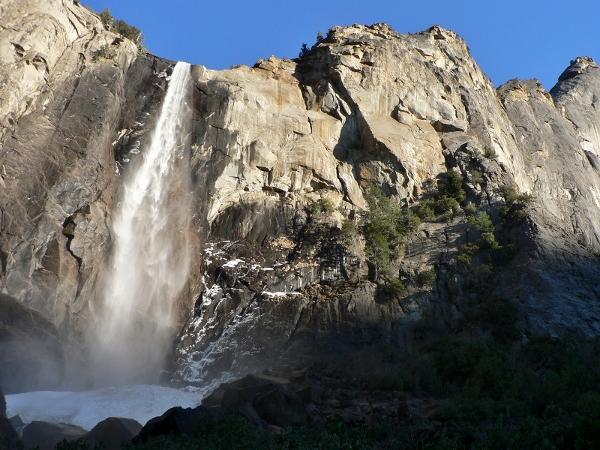 Bridal Veil Falls in February