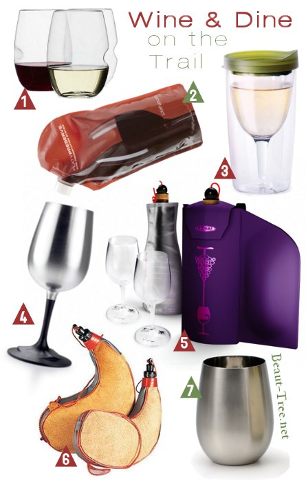 Hiking with Wine - Tools to bring with you on the trail for a romantic outdoors date this valentines day