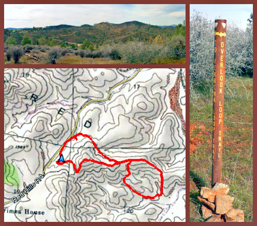 Red Hills Overlook Trail Map