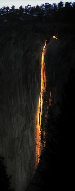 Yosemite Firefall 2013