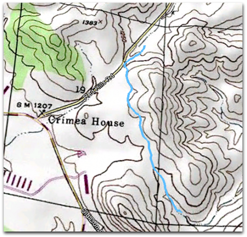 Red Hills Hike Map