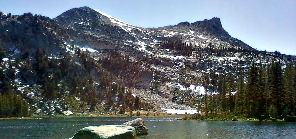 Elizabeth Lake in Yosemite National Park, California