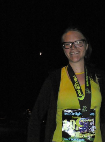 Moo-nlight half Marathon Davis, CA