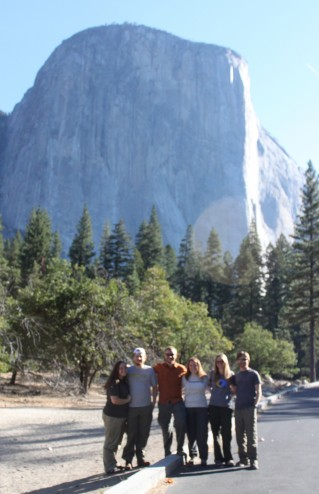Group Picture at El Cap