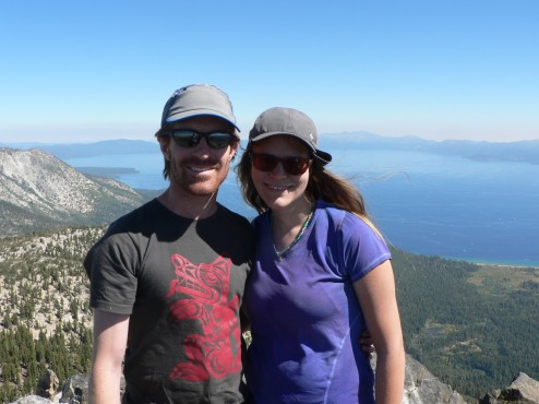 Summit Photo, Mt Tallac