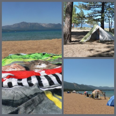 Nevada Beach Campground, Lake Tahoe