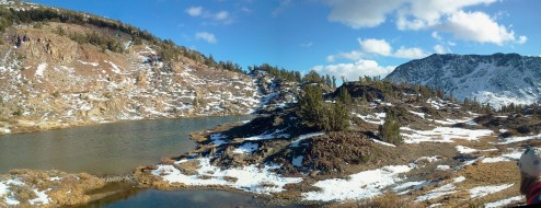 Hummingbird Lake Panorama