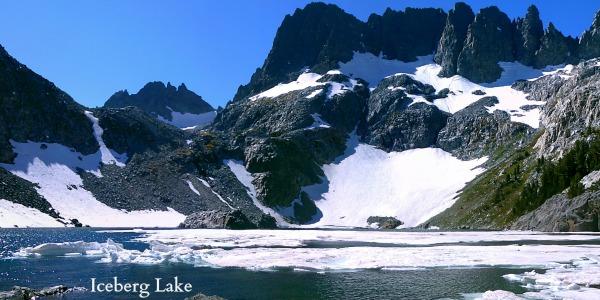 Iceberg Lake, Ansel Adams Wilderness
